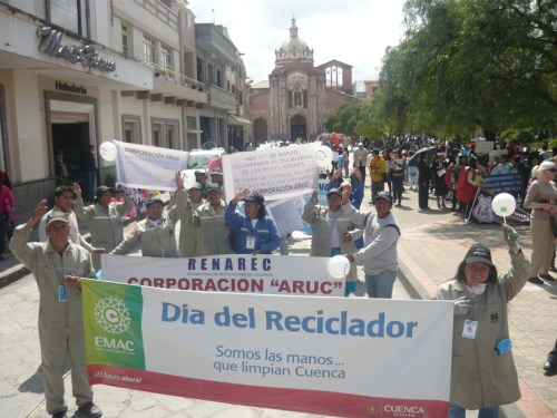 ecuador RENAREC march