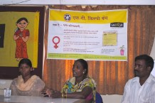 "A press conference held in March about SWaCH's ""Send it Back"" campaign. Photo credit: SWaCH."