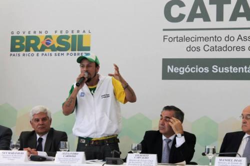 Cataforte. Alex Cardoso, MNCR. (Photo: MNCR)