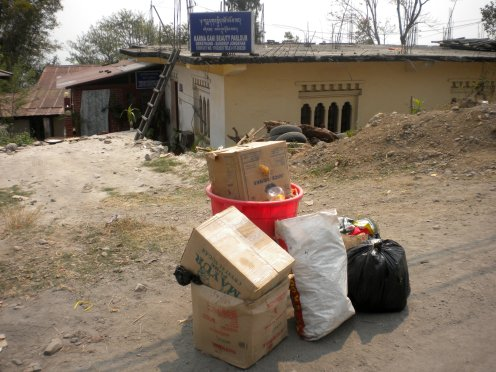 household-waste-awaiting-collection-in-Samdrup-Jongkhar-district