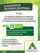 Poster for Antioquía rally.