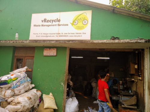 vRecycle in Goa (India).