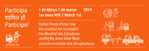 Global Waste Picker Day flyer