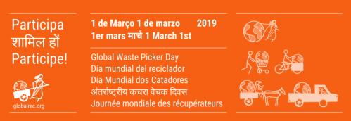 Global Waste Picker Day flyer