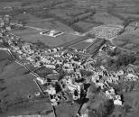 Oradour ruins aerial: Life cover for the 1953 Bordeaux trial