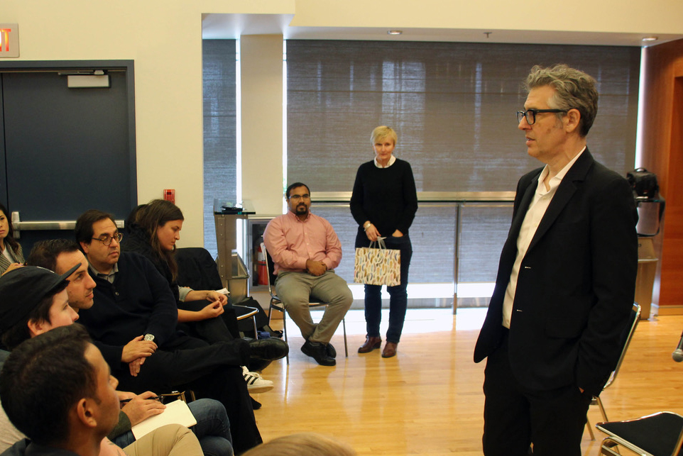 This American Life Host Ira Glass Holds Master Class for Global Reporting Centre