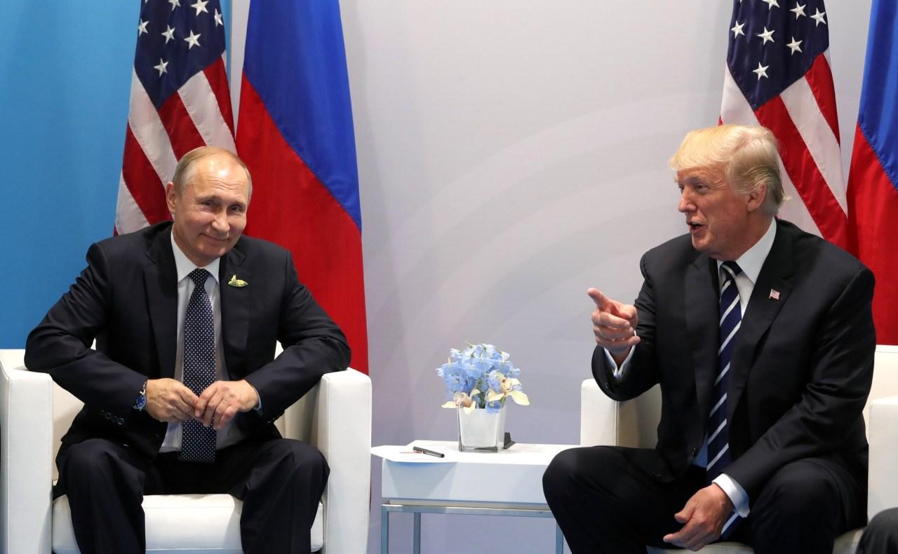Putin and Trump meet at G20