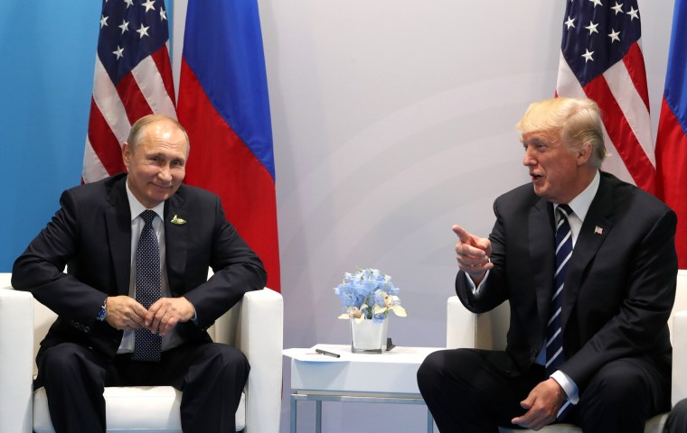 Putin and Trump meet at G20