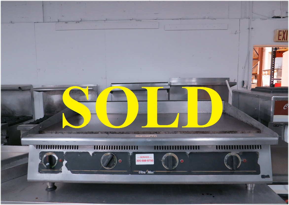used kitchen equipment miami metal cabinets ikea star 748t 48 quot electric griddle ultramax