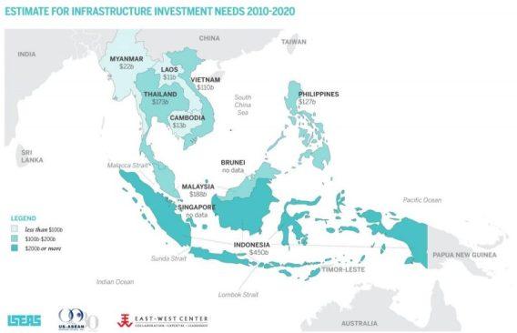 infrastructure needs map