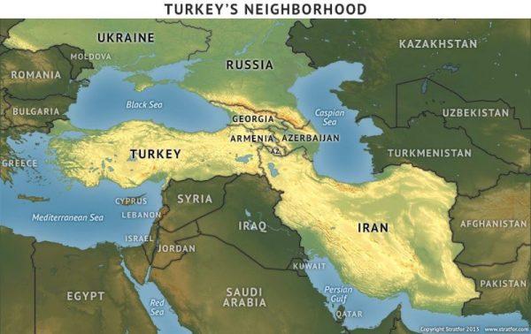 Turkey's neighborhood