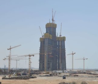 Jeddah Tower Saudi Construction