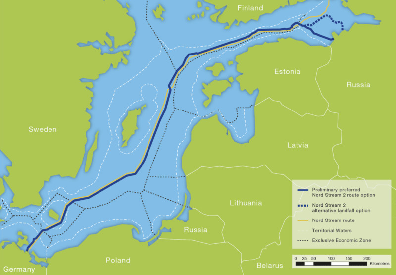 Nord Stream Route