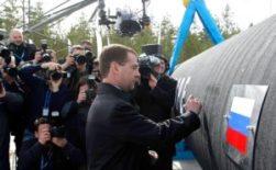 Medvedev Nord Stream