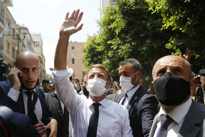 Macron Beirut
