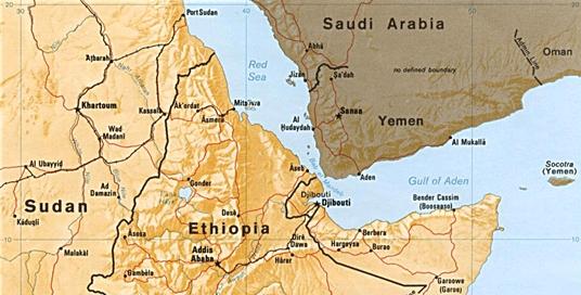 Gulf of aden map