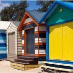 Beach boxes, Mornington