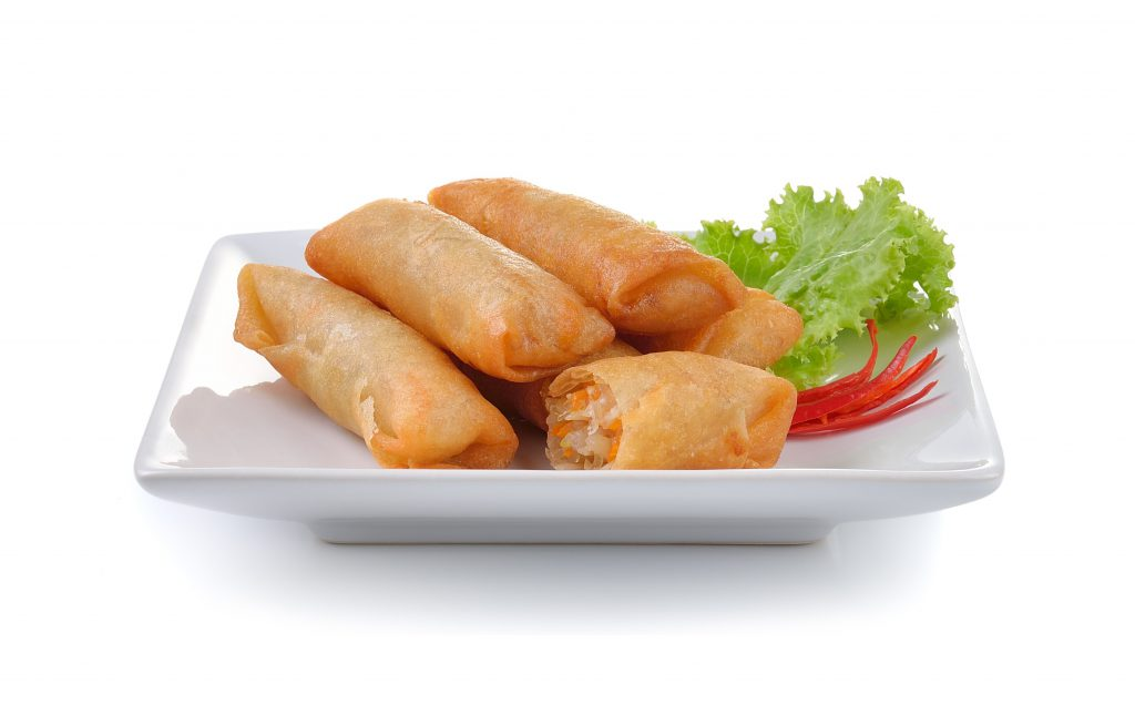 Fried chinese spring roll for appetizer  Global Seafood