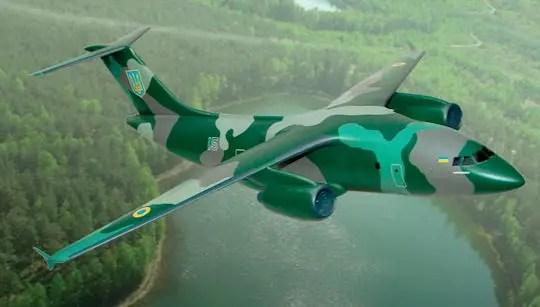 Antonov An178  Regional Transport Aircraft