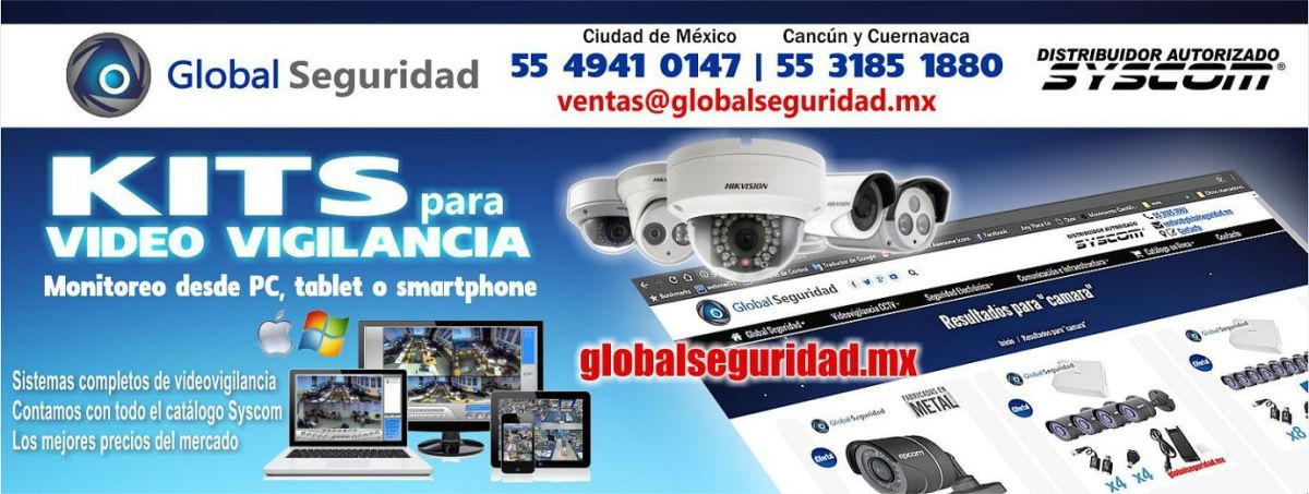 Global Seguridad - Kits para videovigilancia CCTV