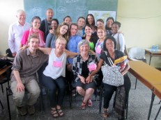 Teaching conversational English with University staff and students