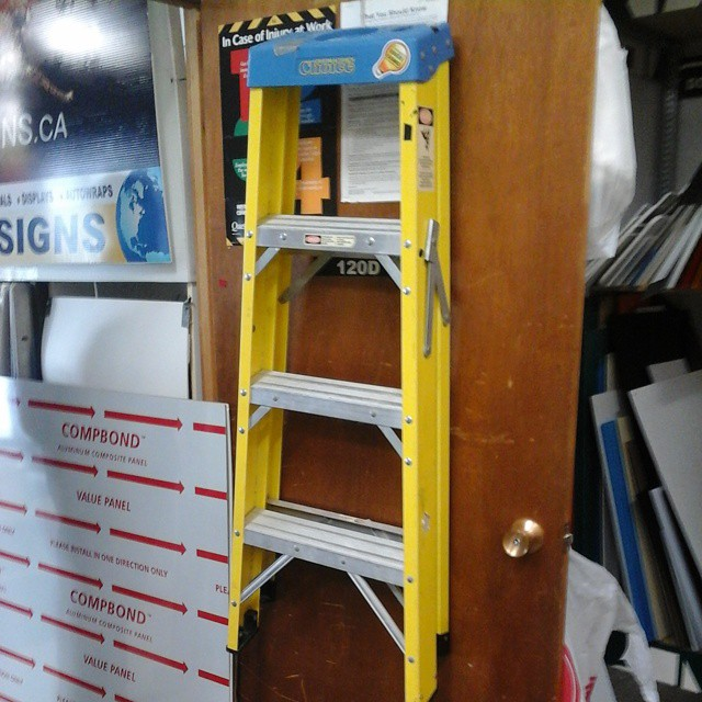 Handy Yellow Ladder