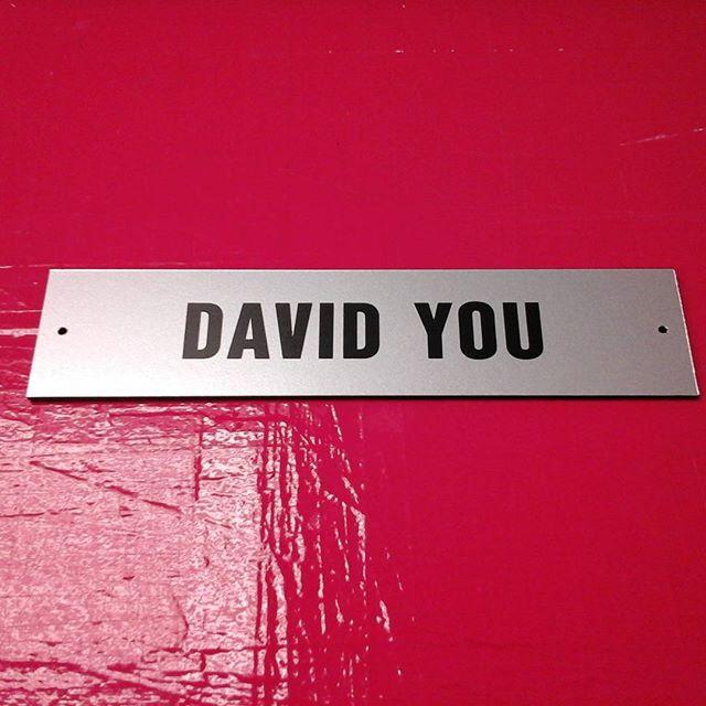 Acrylic Nameplate