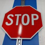 Stop Sign & Post