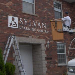 Sylvan Building Sign 1
