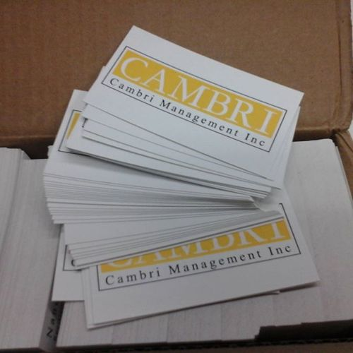 Business Cards Cambri
