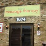 Hyde Park Massage Therapy Sign
