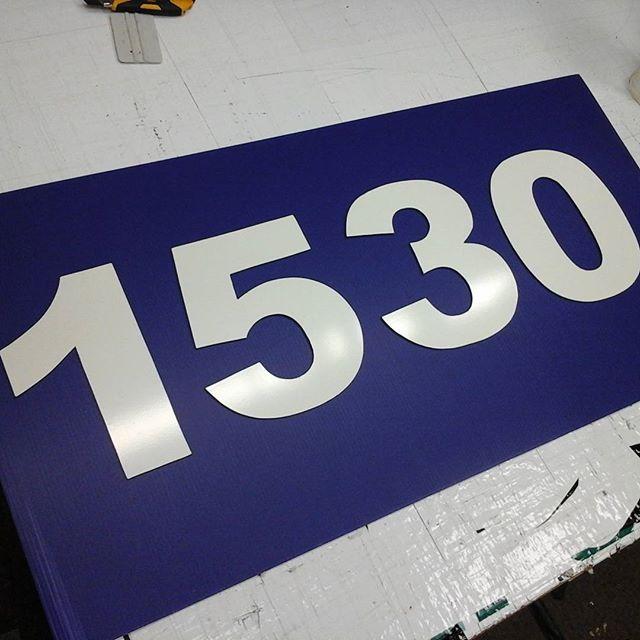 4mm Aluma Numbers