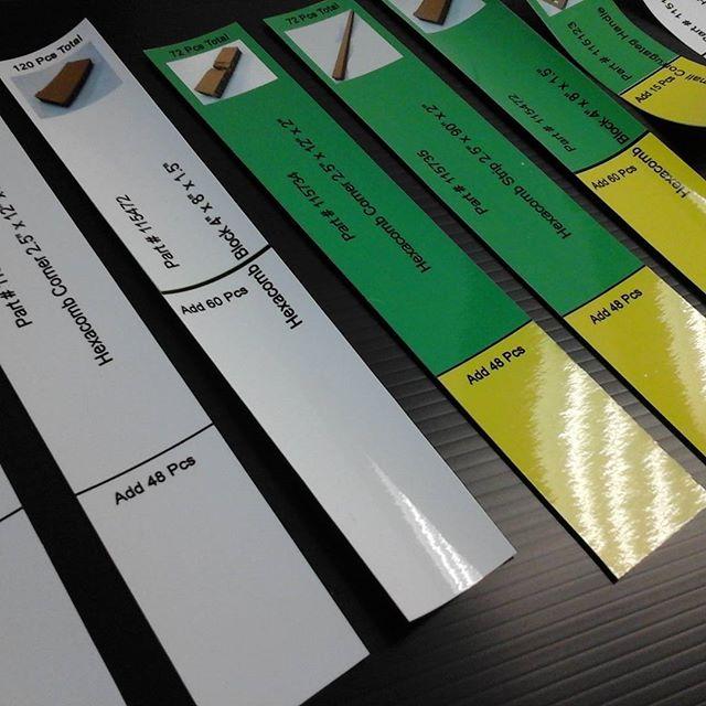 Laminated Labels