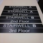 Pym & Cooper lasered signs