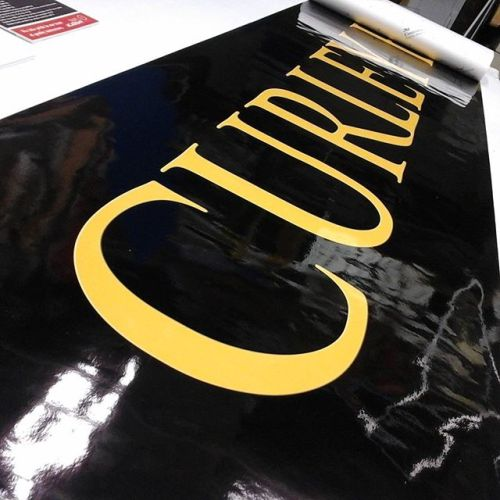 Large Vinyl Print