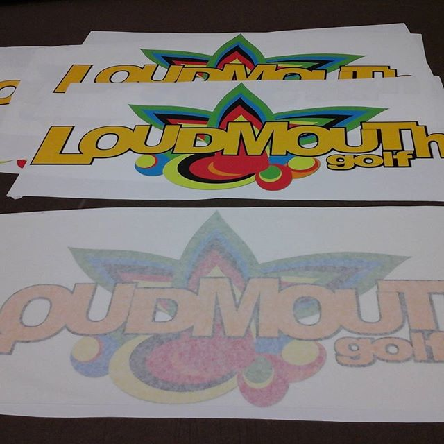 Contour Cut Decals