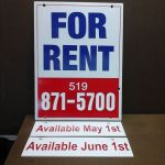 Real Estate sign & riders