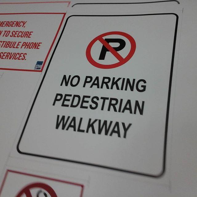 Walkway Sign