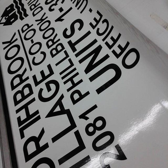 Condo Unit Signage