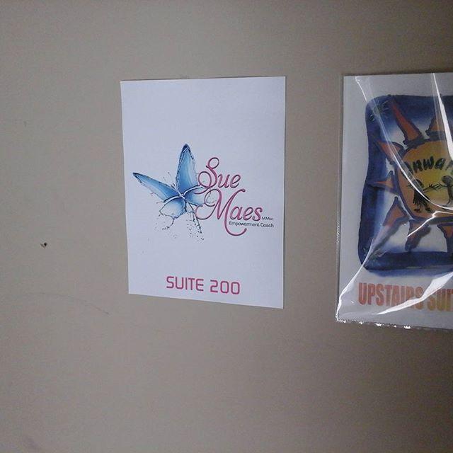 Hallway Sign