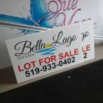 Lot For Sale Signs