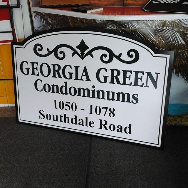 Condo Signage