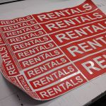 Rentals Stickers