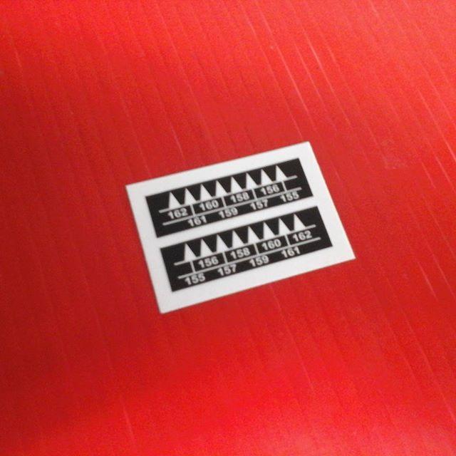 Rowboat Oar Labels