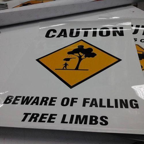 Beware Falling Limbs