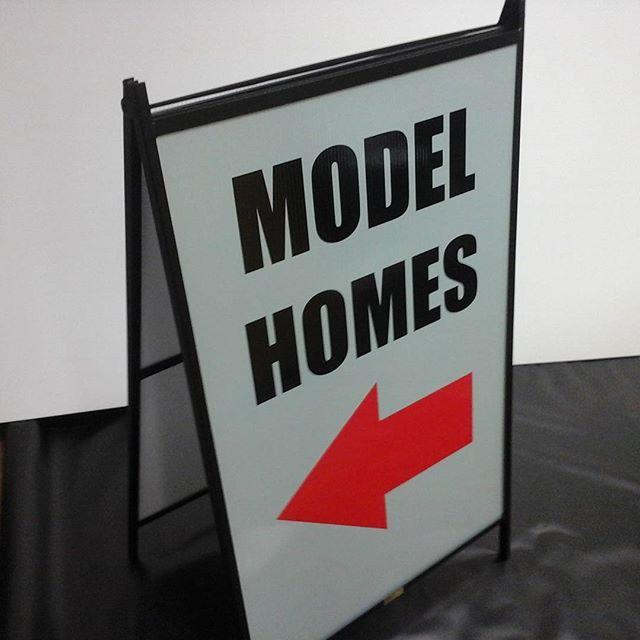 Model Home A-Frame