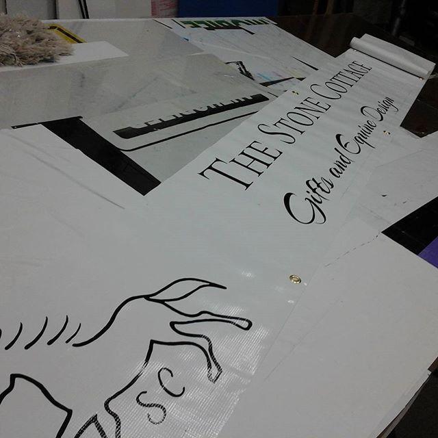 Vinyl Cut Banner