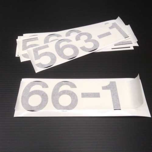Truck Numbers