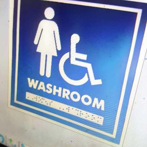 Braille Washroom