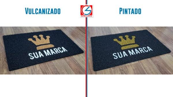 qual a diferença do tapete vulcanizado e do tapete pintado - comparação entre vulcanizado e pintado